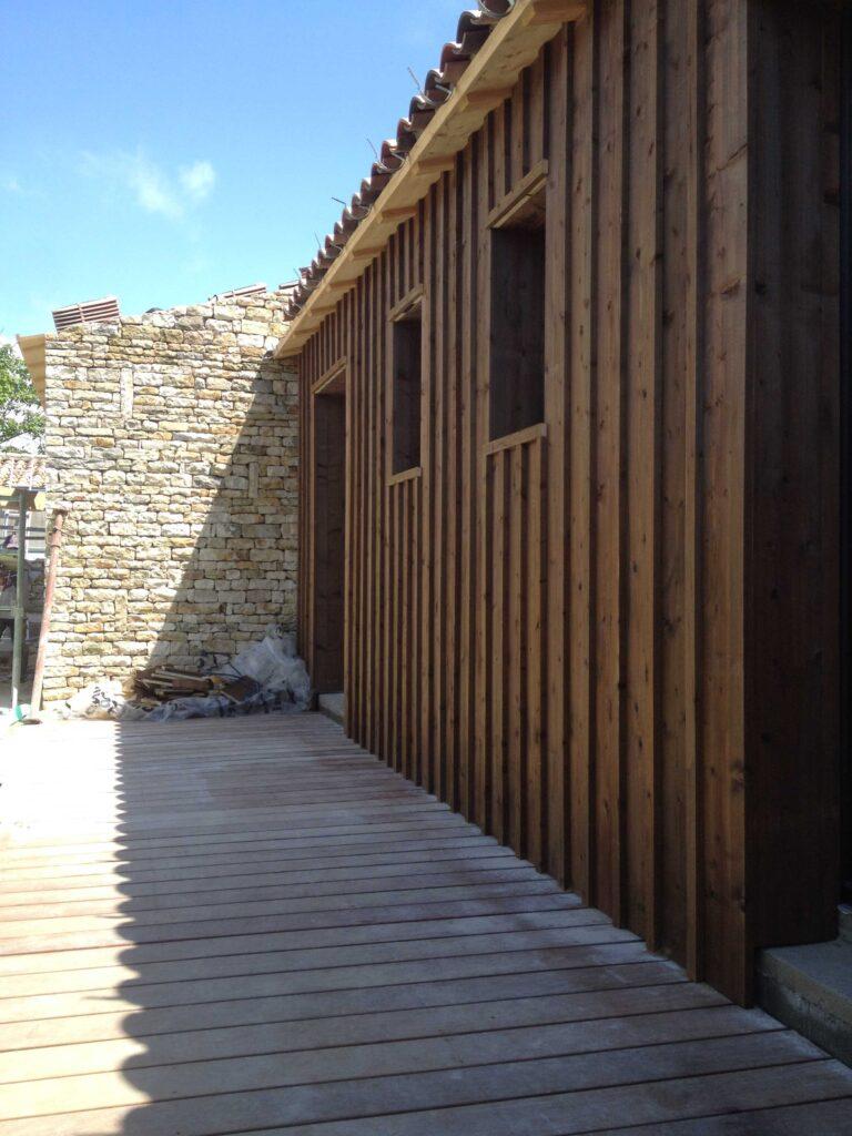Bardage - Modification de façade - Génolhac 4