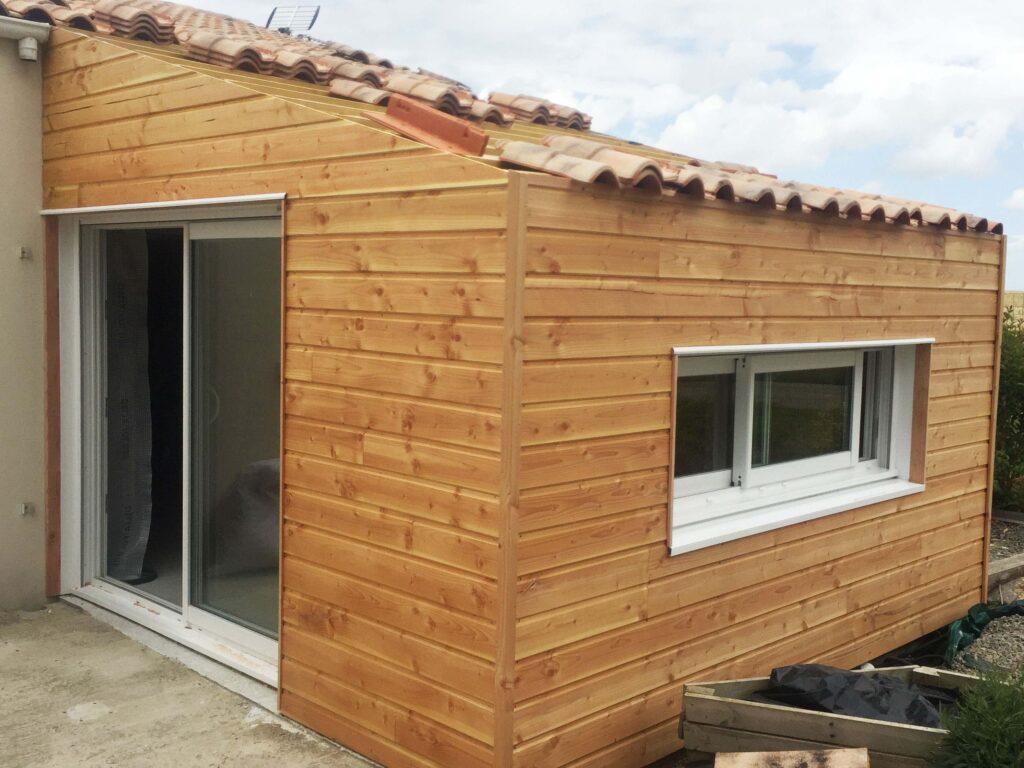 Extension Ossature bois 5
