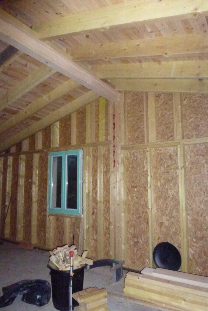 Extension Ossature bois 2 - Aubenas