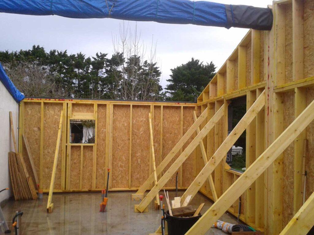 Extension Ossature bois 4 - Aubenas