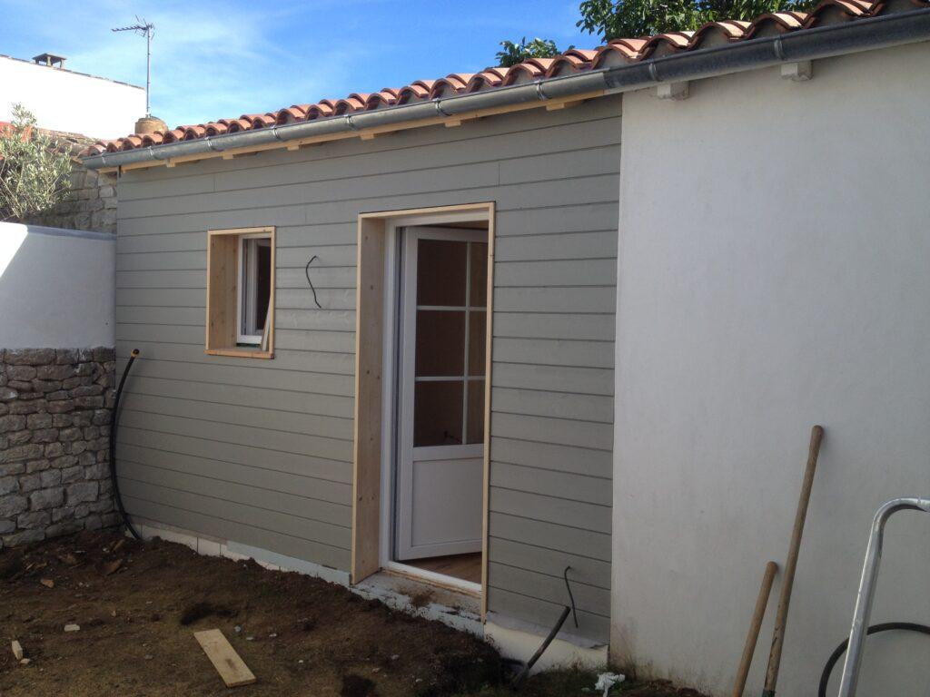 Extension Ossature bois - Florac 2