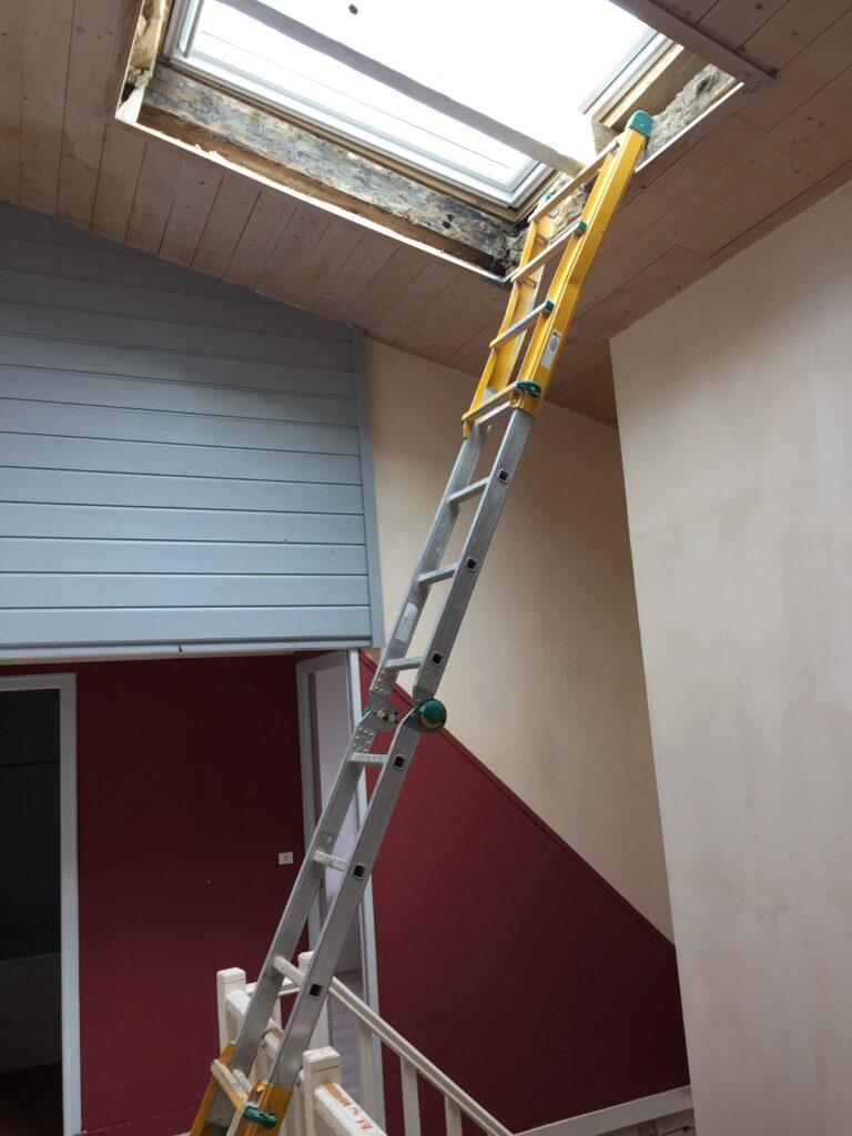 Habillages Fenêtres de toit - Courry 1