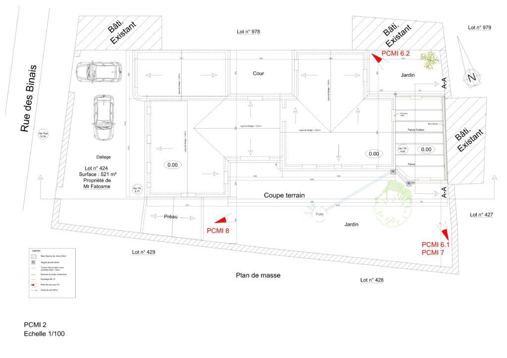 PCMI 2 - Plan de masse