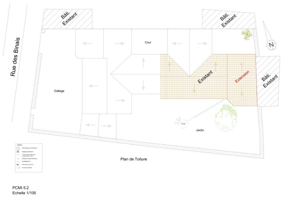 PCMI 5.2 - Plan de toiture