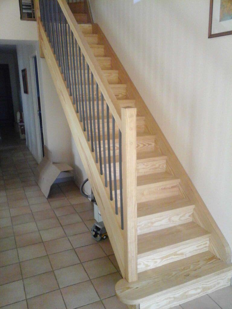 Plan Escalier - Chamborigaud 1