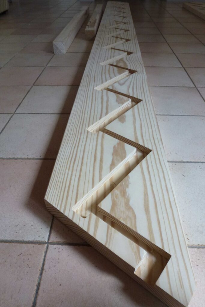 Plan Escalier - Chamborigaud 5