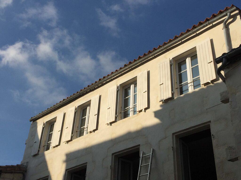 Volets - Ravalement de façade - Saint-Ambroix 1